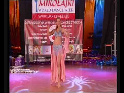 MIKOLAJKI WORLD DANCE WEEK 2009 BELLY DANCE COMPETITION Eyyam Oriental Dancer