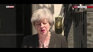 Theresa May on