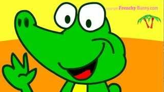 Ah les crocodiles! chanson et comptine enfant - Frenchy Bunny:)