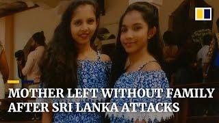 Sole family survivor of Sri Lanka Easter Sunday attacks struggles to move forward