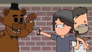 Freddy Fazbear and Mr  Cluckington! Five Nights At Freddy's Animation