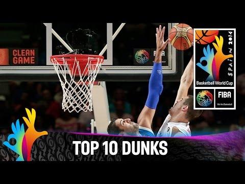 Top 10 Dunks - 2014 FIBA
