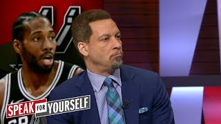 Chris Broussard on the latest rumors about Kawhi, Shaq talking LeBron   NBA   SPEAK FOR YOURSELF