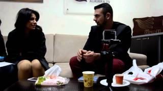 كواليس مقابلة الفنان أحمد معزعلى قناة الحرة - Ahmad Muezz - Behind The Scenes Of Alhurra Interview