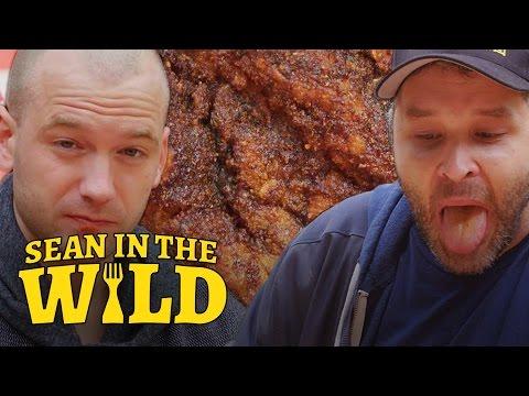 Sean Evans Eats L.A. s Spiciest Fried Chicken with Brian Redban Sean in the Wild