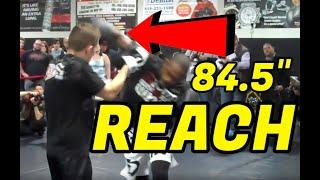 Jon Jones training boxing for Lyoto Machida fight