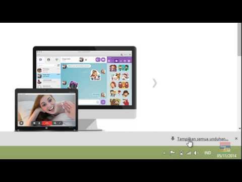 Cara mengunduh Viber untuk Windows
