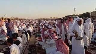 saudi Arabia me eid ki namaz ada karte huy