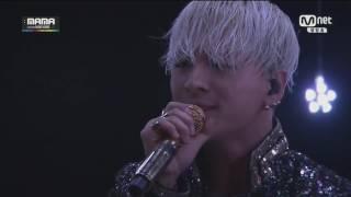 Taeyang VS Albina. Live. Eyes, nose, lips.