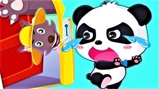Baby Panda Safety At Home - Children Learn Safety Knowlege - Fun Educaitonal Baby Games