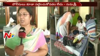 విజయవాడ లో ఫ్లాట్ కబ్జా వివాదం || బోండా ఉమా అనుచరులు కబ్జా చేసారని మహిళా ఆరోపణ || NTV