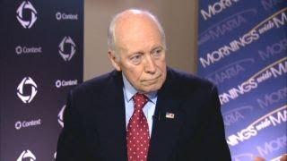 Enhanced interrogation a viable option in anti-terror efforts: Dick Cheney