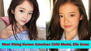 Meet Rising Korean American Child Model, Ella Gross