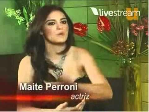 Entrevista con Maite Perroni en Derecho de Admisión Parte 1