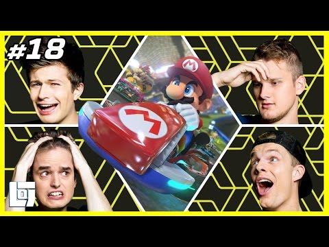 Mario Kart 8 met Don Enzo Ronald en Ward XL Battle LOGNL 18