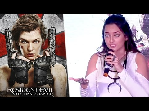 Sonakshi Sinha Reaction On Resident Evil Box Office Business In India