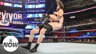 Brock Lesnar secures clean sweep for Team Raw: WWE Now