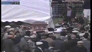 Funeral of Hazrat Khalifatul Masih IV