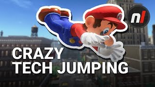 How to Do Crazy Tech Jumps & Moves in Super Mario Odyssey