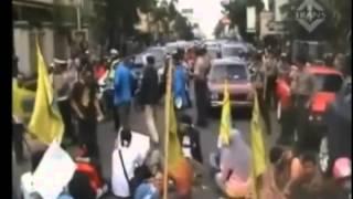 Demonstrasi mahasiswa tolak kenaikan harga BBM