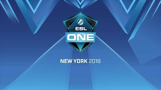ESL One New York 2016 | finał | NaVi vs Virtus.pro