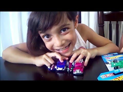 Carrinhos HotWheels COR DE ROSA!!! feat. Canal do Dudu (PINK HotWheels Cars Series!)