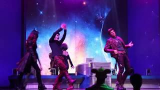 Guardians of the Galaxy Dance Off - Shanghai Disneyland - Shanghai Disney Resort