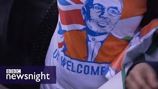 Why is Narendra Modi so popular in the UK? - Newsnight