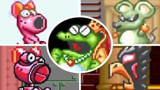 Super Mario Advance - All Bosses (No Damage)
