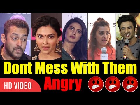Xxx Mp4 Don 39 T Mess With These People Bollywood Angry Reaction On Media Angry Bollywood 3gp Sex