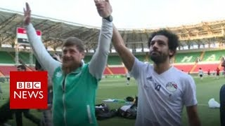 Mo Salah and the Chechen strongman - BBC News