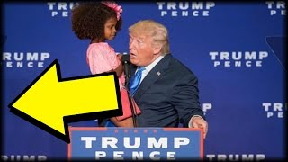 MOMENTS AFTER LITTLE GIRL WALKED ON STAGE, TRUMP DID SOMETHING THAT MADE AMERICA CHEER!