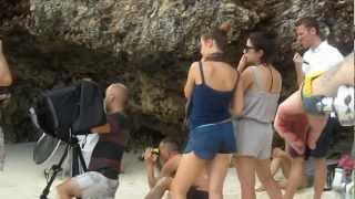 Backstage servizio fotografico x Vanity Fair di Michelle Hunziker a Zanzibar