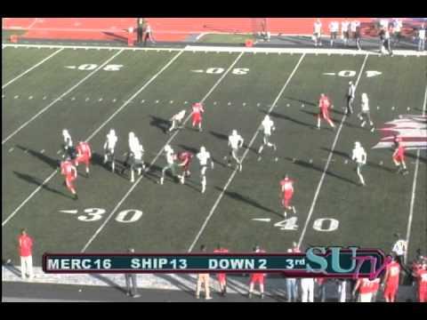 SHIP Football: Highlights vs. Mercyhurst (11.12.11)