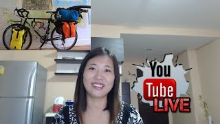How I prepared my cycling trip at the beginning  | Livestream