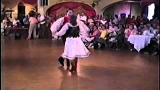 Kopernik Dancers Paul & Jennifer - Jimmy Sturr's Barbara Polka 7-20-1989