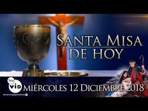Xxx Mp4 Santa Misa De Hoy Día De La Virgen De Guadalupe ⛪ Miércoles 12 De Diciembre De 2018 Tele VID 3gp Sex