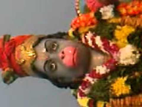 Hanuman opens and close his mouth at Gula Estate Perak