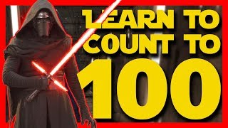 1⃣0⃣0⃣ Learn To Count To 100 With Kylo Ren 🚀 Star Wars Superhero Sing Along Songs 🤺