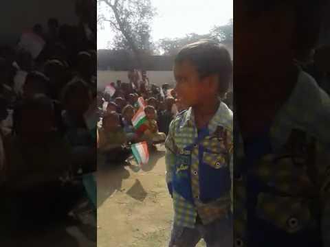Indian village boy funny poem chanda mama😀