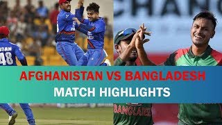 Afghanistan vs Bangladesh  | afg vs ban asia cup 2018 highlights in asia cup 2018