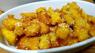 Resep IKAN Masakan Luar,Honey Lemon Fish.