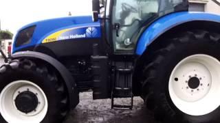 New Holland T6080 powercommand 50KPH c/w intellisteer