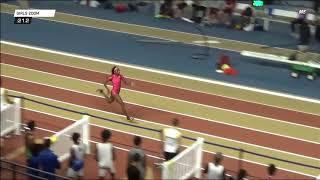 Tamari Davis 23.66 Indoor 200m