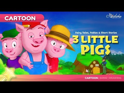 Xxx Mp4 Three Little Pigs Kids Story Cartoon Bedtime Stories For Kids 3gp Sex