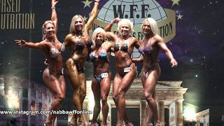 Victory Pose -  Women Superbody & Women Extremebody - WFF European Championship 2018