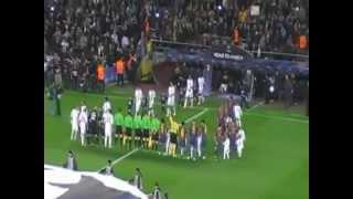 نشيد برشلونة يتفوق على نشيدى دورى الأبطال و ليفربول