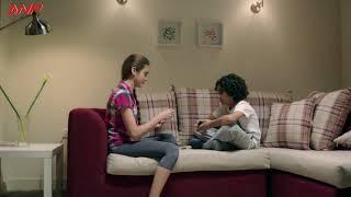 """مشهد كوميدي أوي من """" خالد سرحان """" وأولاده في مسلسل يوميات زوجة مفروسة أوي"""