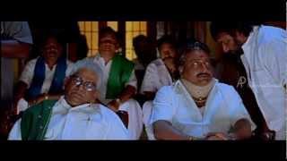 Pudhupettai Tamil Movie - Azhagam Perumal insults Dhanush