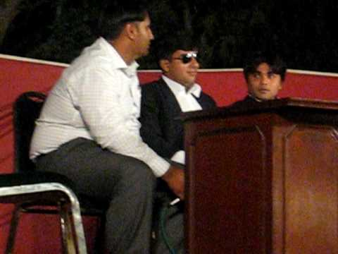 welcme party 2010 in the universtiy law college university of the punjab lahore